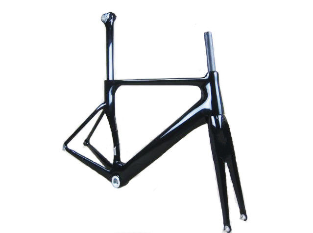 Mens Black Carbon Road Bike Frame Sets ,  Carbon Aero Frameset S5 Road 560mm 54cm
