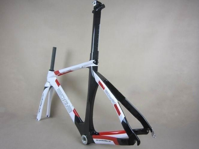 Fixed Gear Carbon Track Bike Frame 49 51 54 57 size with Fork Seat Post Headset